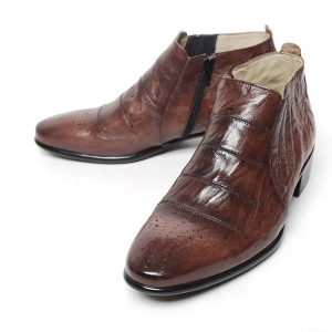 http://what-is-fashion.com/4979-39322-thickbox/men-s-brown-sheep-skin-stripe-stitch-elastic-side-zip-back-tap-ankle-boots.jpg