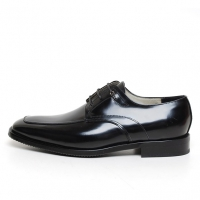 Men's square toe leather lace up oxfords big size shoes