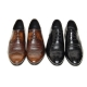 Men's wing tip leather wrinkle brogues lace up oxfords shoes
