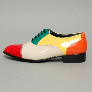 http://what-is-fashion.com/5182-40362-thickbox/men-s-cap-toe-glossy-multi-color-closed-lacing-oxford-shoes.jpg