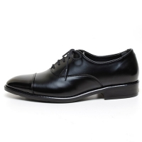 Men's Cap Toe Closed Lacing Synthetic Leather Oxford Shoes