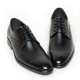 Men's Wing Tip Brogue Open Lacing Synthetic Leather Oxford Shoes