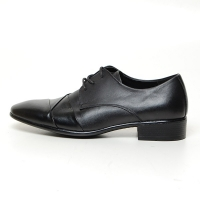 Men's Wrinkle Leather Open Lacing Oxford Shoes