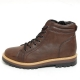 Men's Round Toe Eyelet Lace Up Side zip Back Tap Combat Sole Padding Entrance High Tops ankle boots