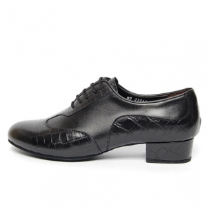 http://what-is-fashion.com/5381-41551-thickbox/men-s-round-toe-animal-pattern-black-leather-lace-up-leather-outsole-high-heel-dance-shoes.jpg