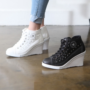 http://what-is-fashion.com/5508-42628-thickbox/women-s-cap-toe-cubic-detail-star-side-zip-lace-up-high-wedges-heels-sneakers-w5508.jpg