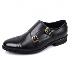 http://what-is-fashion.com/5524-42794-thickbox/men-s-cap-toe-black-leather-double-buckle-monk-strap-shoes.jpg