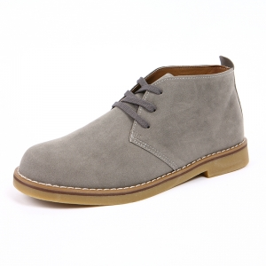 desert boots gray color