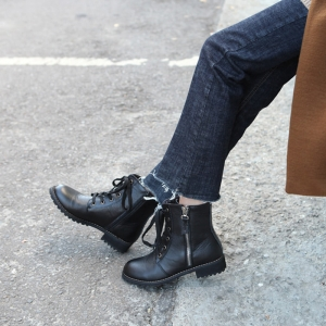 http://what-is-fashion.com/5631-43847-thickbox/women-s-leather-round-toe-side-zip-closure-lace-ups-combat-sole-walkers.jpg