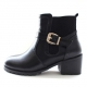 Wide Entrance Med Heel Boots
