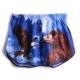 Men's eagle animal pattern cotton boxer briefs underwear trunk slip pants
