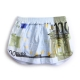 Men's euro money pattern cotton boxer briefs underwear trunk slip pants