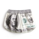 Men's us money pattern cotton boxer briefs underwear trunk slip pants