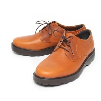 Men's Round Toe Tan Leather Comfort Casual Oxford Shoes US6.5 - US10 Made in Korea
