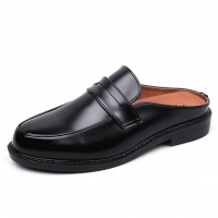 Men's Slip on Penny Loafer Mules Shoes