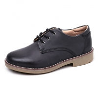Men's Round Toe Padding Entrance Oxford Casual Shoes