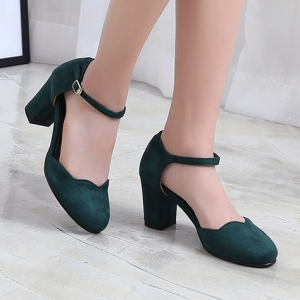 http://what-is-fashion.com/5807-44893-thickbox/women-s-green-suede-round-toe-belt-strap-comfort-chunky-heel-pumps-us5-us10.jpg