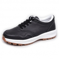 Men's Brown Round Toe Padding Entrance Casual Shoes