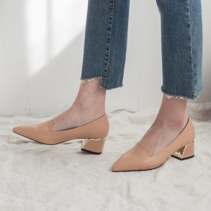http://what-is-fashion.com/5870-45391-thickbox/women-s-beige-pointed-toe-comfort-chunky-heel-loafer-shoes.jpg