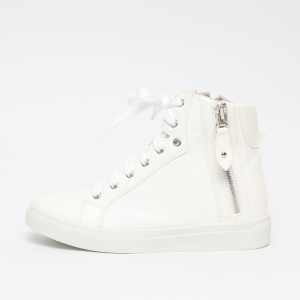 3e481890bdd http   what-is-fashion.com 5893-45573-. Women s White Increase Height  Hidden Wedge Insole High Top ...