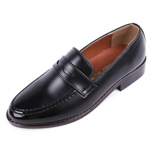 736223104ce http   what-is-fashion.com 6035-46790-. Previous. Men s Apron Toe Formal  Black Synthetic Leather Penny Loafers Dress Shoes ...