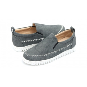 521327bca04 http   what-is-fashion.com 6399-49330-. Previous. Women s Contrast Stitch  White Platform Slip On Sneakers ...