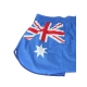 Mens AU flag cotton boxer briefs underwear trunk slip pants
