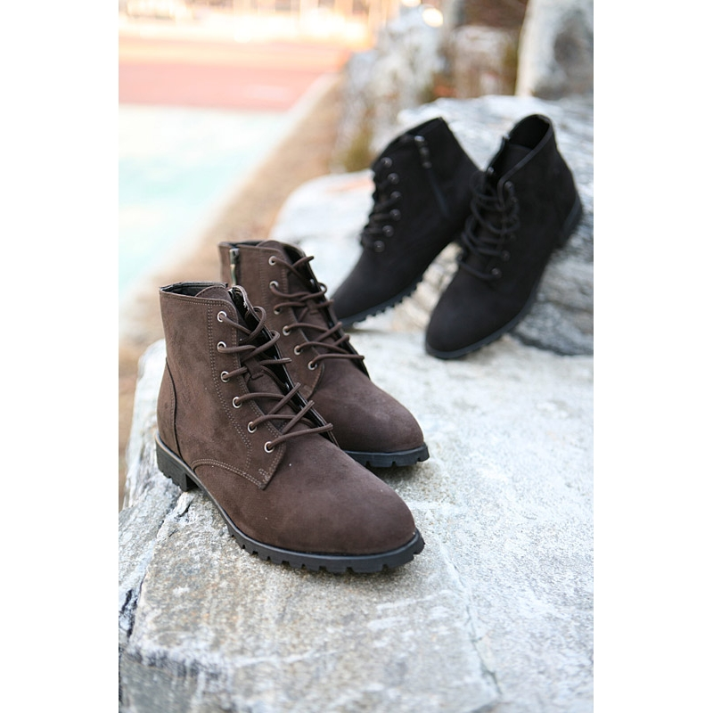 Mens New Vintage side zip Lace Up combat Boots fashion is not just ...