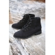 Mens New Vintate side zip Lace Up Ankle combat Boots