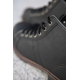 Mens New Vintage Lace Up stitch military fashion Boots