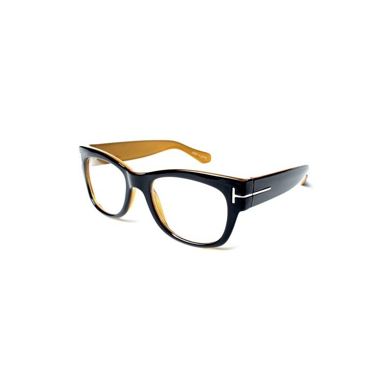 Vintage Black Frame Glasses : Vintage fashionable thick black EyeGlasses frames T wear