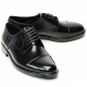 Mens real cow leather Lace Up Oxfords Straight Tip Dress shoes big size US11 US12
