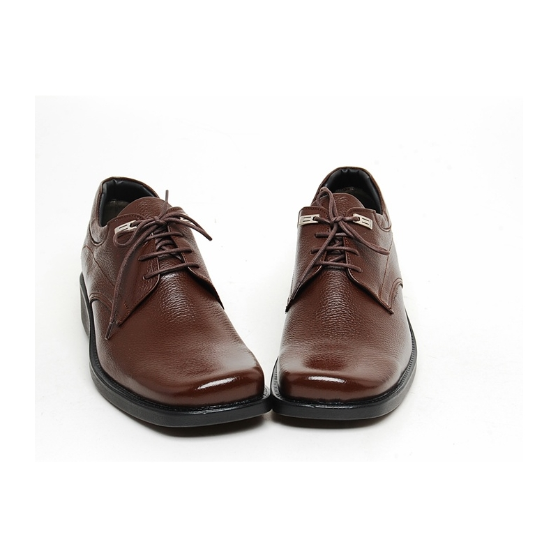 mens real cow leather lace up oxfords comfort wedge