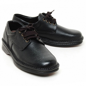 Mens real Cow leather Lace Up basic round Oxfords comfort Dress ...