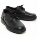 Mens real Cow leather Lace Up basic round Oxfords comfort  Dress shoes big size US11 US12