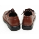 Mens real Cow leather Lace Up golf stitch Oxfords comfort  Dress shoes big size US11 US12