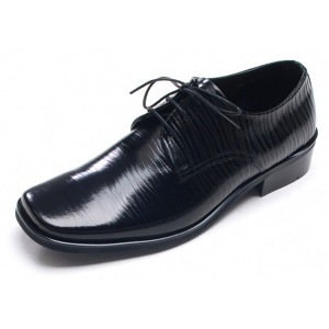 b32f3fe73bde9 Mens pointed square toe wrinkles Dress shoes