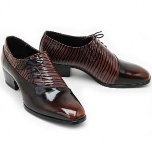 side lace up dress shoes