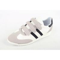Men's triple velcro strap wedge heel fashion sneakers