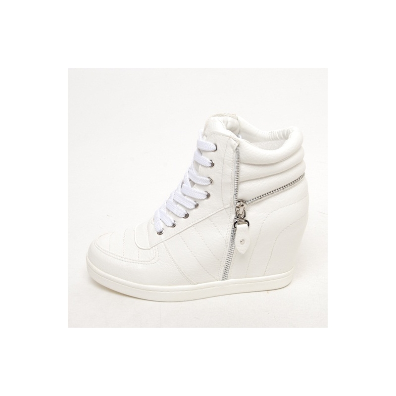 White High Top Sneakers Womens