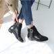 Fringe Belt Strap Low Boots