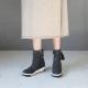 Tassel Low wedge Heel Boots