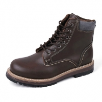 Brown Fur work boots
