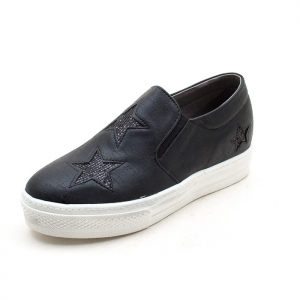 star sneakers for womens black
