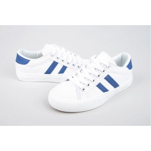 blue line canvas sneakers