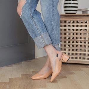 7e9cc1b3257 ... Women s Beige Square Toe Comfort Chunky Heel Slingback Pumps Square toe