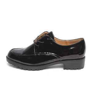 8cd5719dc2b314 Women's Apron Toe Platform Low Heel Oxfords Shoes