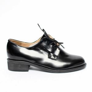 89c0945b3b5c67 Women's Belt Strap Platform Low Block Heel Loafers Black Shoes Round Toe,  Belt Strap, Women's Lace Up Platform Low Block Heel Oxfords Glossy ...