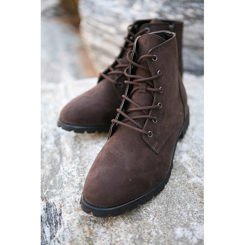 Best Mens New Vintage side zip Lace Up combat Boots fashion is not just  YG18