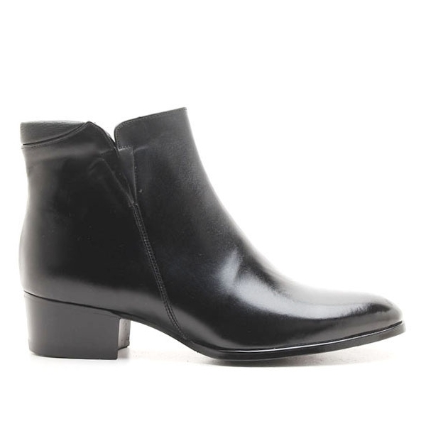 c0630e340422 Mens black real Leather side zipper Ankle boots made in KOREA US5.5-10.5 ...